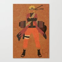 Sage Naruto Canvas Print
