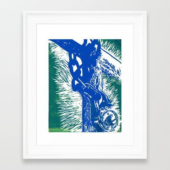 unlock it Framed Art Print