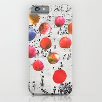 iPhone & iPod Case featuring BEACH BALLS by Beth Hoeckel Collage & Design