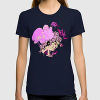Perseus Womens Fitted Tee Navy SMALL