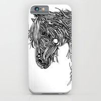 iPhone & iPod Case featuring Horse by Seth Beukes