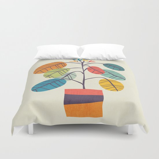 Potted plant 2 Duvet Cover