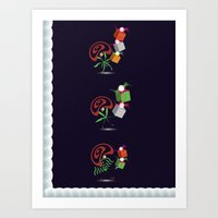 Christmas Card - Present… Art Print