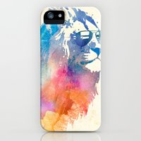iPhone Cases featuring Sunny Leo   by Robert Farkas