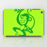 Green Monkey iPad Case