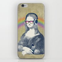 Modern Lisa (with Smartp… iPhone & iPod Skin