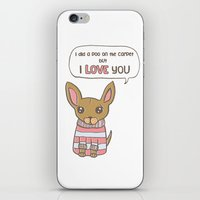But I Love You! iPhone & iPod Skin
