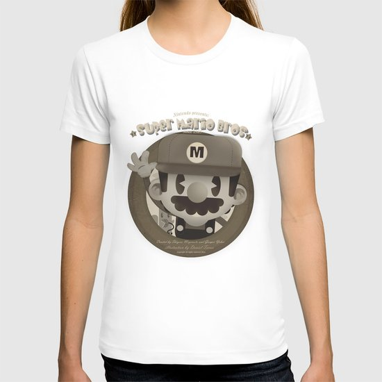 Mario Bros Fan Art T-shirt
