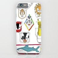 Animals head plaques iPhone 6 Slim Case
