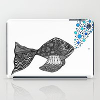 Blowing Bubbles iPad Case