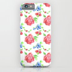 Summer Flowers iPhone 6s Slim Case