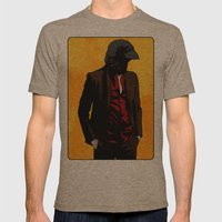 Nevermore Mens Fitted Tee Tri-Coffee SMALL