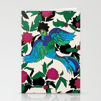 Bird In Paradise Stationery Cards