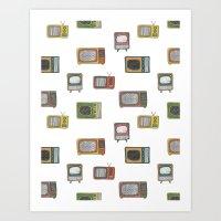 television Art Print