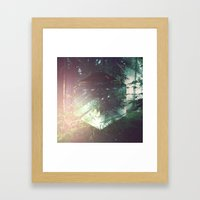 Fractions 03 Framed Art Print