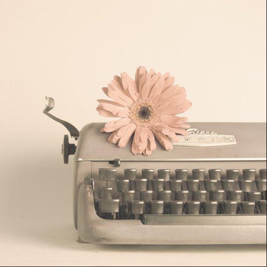 Soft Typewriter (Retro and Vintage Still Life Photography) Art Print