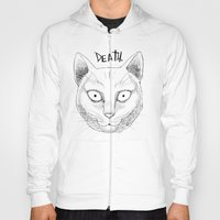 DEATH. (White) Hoody