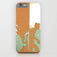 iPhone & iPod Case featuring The Wall by giorgio fratini