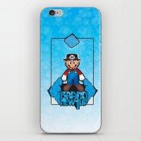 Mario Heisenberg iPhone & iPod Skin