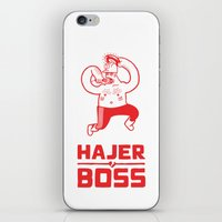 Hajer Boss iPhone & iPod Skin