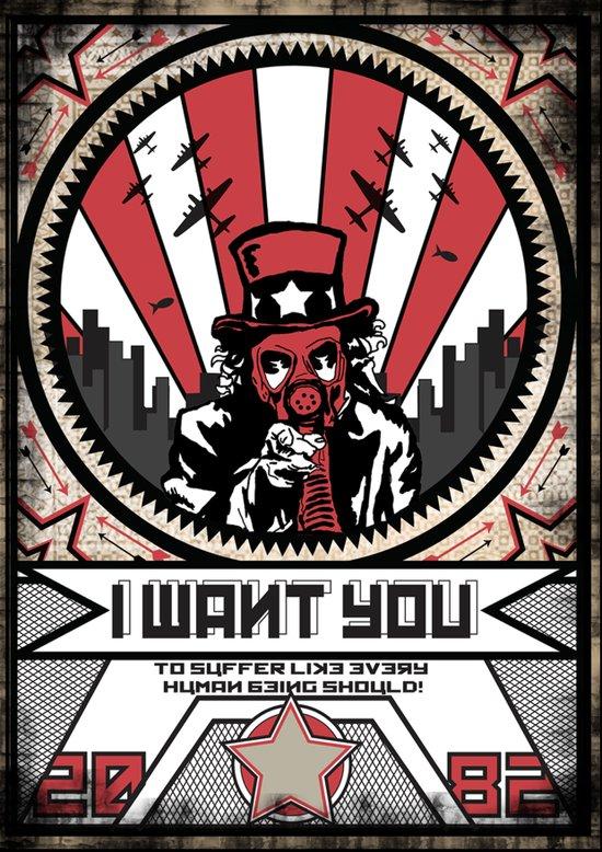 I WANT YOU Art Print