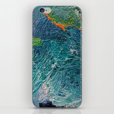 Ocean Depth abstract painting photograph iPhone & iPod Skin