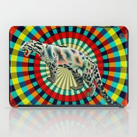 Clouded ( Rainbow ) Leop… iPad Case