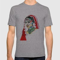 Indian Mens Fitted Tee Athletic Grey SMALL