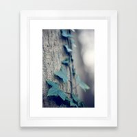 Sleeping Ivy Framed Art Print