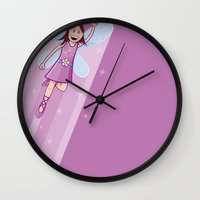 Supersonic Fairy Wall Clock