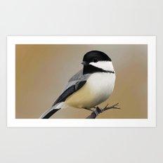 Chickadee-dee-dee Art Print