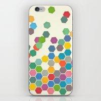 Falling Down iPhone & iPod Skin