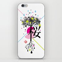 sakura ki iPhone & iPod Skin