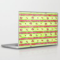 Laptop & iPad Skin featuring Roses Pattern 02 by Aloke Design