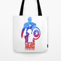 Captain America Tote Bag