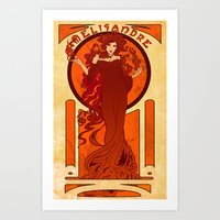 Melisandre of Asshai Art Print