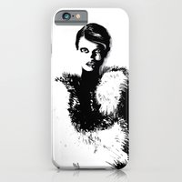 Glamor woman iPhone 6 Slim Case