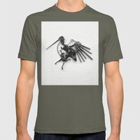 Rad's Birds Mens Fitted Tee Lieutenant SMALL