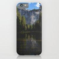 Yosemite National Park - Reflection of Mountains iPhone 6 Slim Case