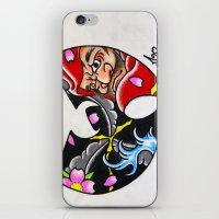 Enter The Daruma iPhone & iPod Skin