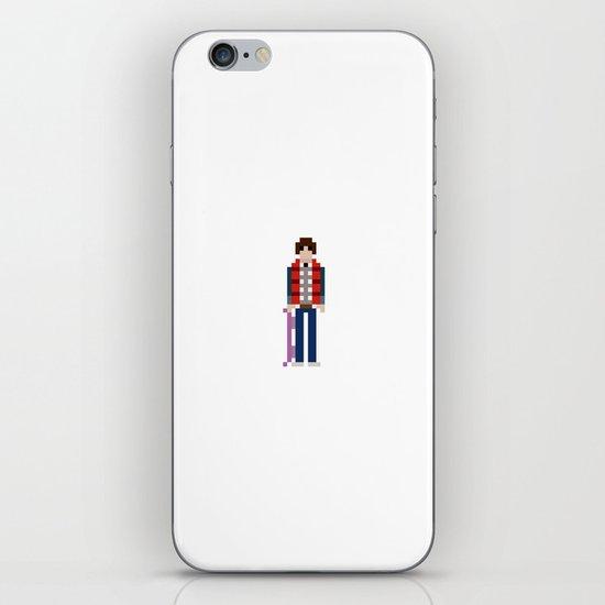 8-bit Back to The Future iPhone & iPod Skin
