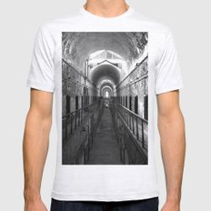 Eastern State Penitentiary  Mens Fitted Tee Ash Grey SMALL