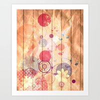 Unhappy Spring Art Print