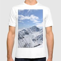 Lowell Point Mens Fitted Tee White SMALL