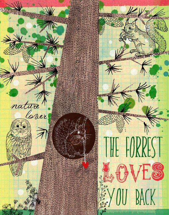 Nature Lover Art Print