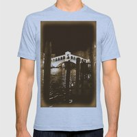 Rialto Nights Mens Fitted Tee Athletic Blue SMALL