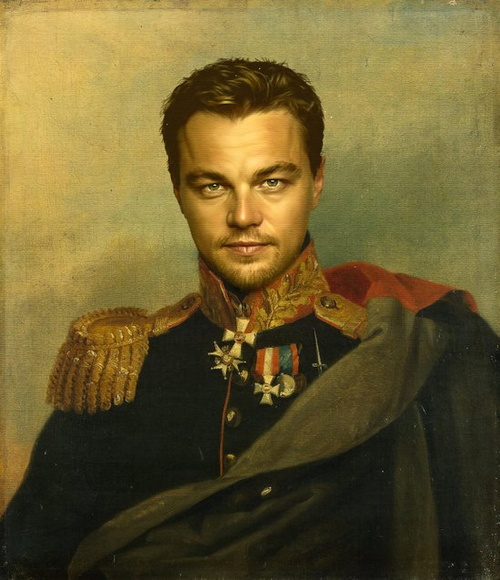 Leonardo Dicaprio - replaceface Canvas Print
