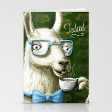 The Fancy Llama Stationery Cards