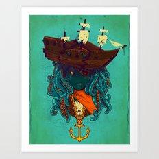 The Bride of Neptune Art Print