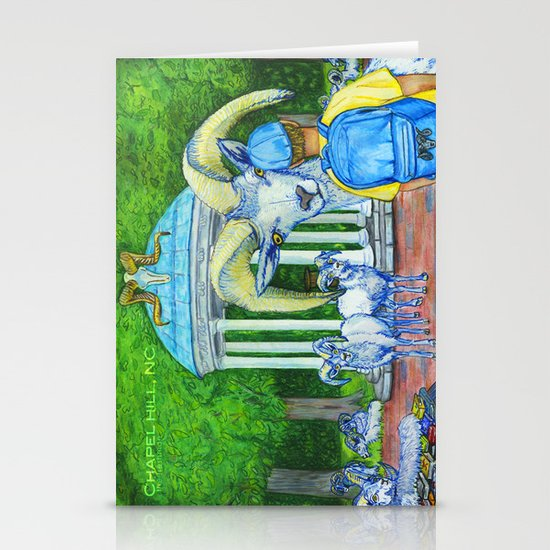 Locals Only  - Chapel Hill, NC Stationery Card